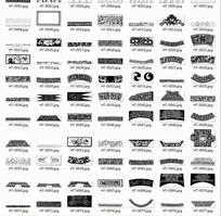传统纹样素材条纹素材