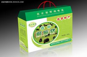 蕨麻猪绿色食品包装