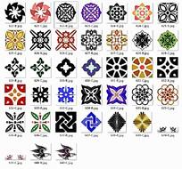 复古装饰花纹