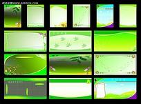 学校展板设计模板cdr