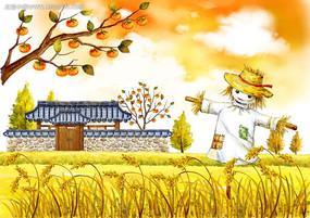 秋天收獲的季節