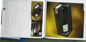创意红酒包装设计素材