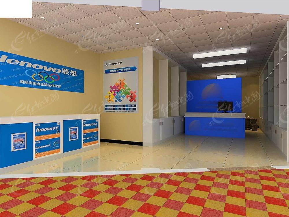 数码科技3D模型效果图图片