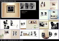 时尚全家福摄影相册模板