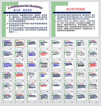 组合化学ppt模板