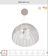 网罩吊灯3d模型