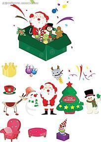 圣诞立体图标设计