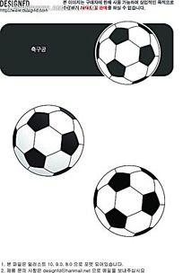 足球手绘画
