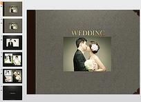 结婚纪念册ppt模版