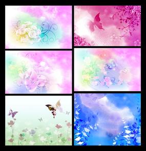 复古花朵花纹图片