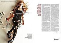 国外时尚杂志排版