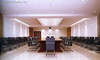 会议室布置吊顶模型