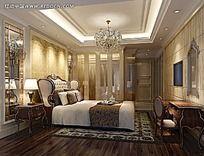欧式风格宾馆房间图片