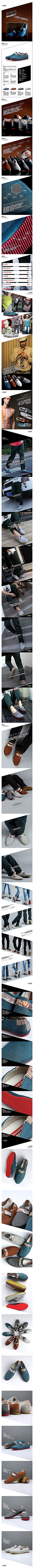 斯那克时尚休闲帆布鞋细节详情页PSD素材