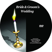 烛光黑色DVD设计