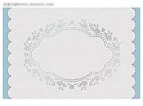 欧式古典花纹时尚矢量空白边框