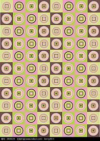 彩色抽象几何重复图案矢量背景素材eps