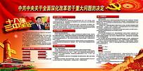 深化改革两会宣传栏