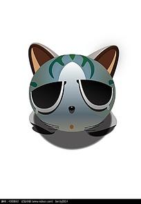 爱哭的甜甜私房猫卡通矢量动物插画