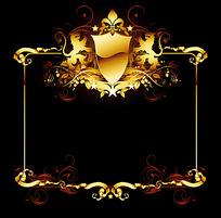 精美欧式方形边框