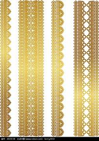 金色镂空花纹边框