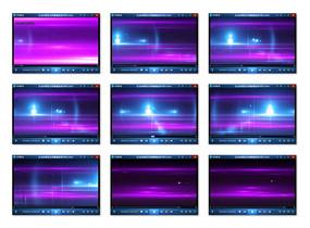 动态紫色流光视频