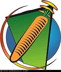 红萝卜矢量图形设计