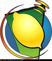 柠檬矢量图形设计