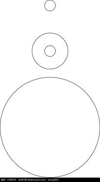 圆形外包装设计刀模