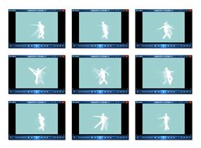 芭蕾舞姿勢Flash視頻