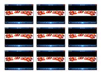 动态红色枫叶动画视频