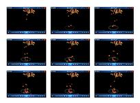 枫叶落在水面动画视频