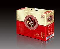 稻花香米包装盒效果图