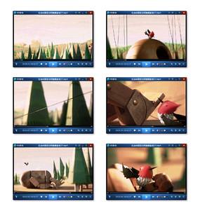 国外折纸动画视频