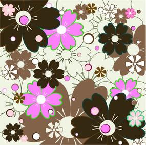 花朵矢量背景