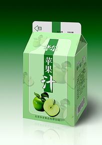 华尔苹果汁纸盒设计