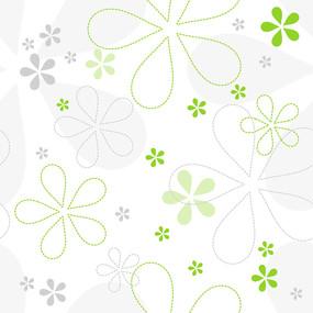 亲信手绘花朵矢量背景