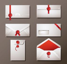 简洁大气信封设计