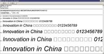 Arial Special G1 Italic英文系统安装字体