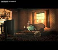 国外室内3D动画视频