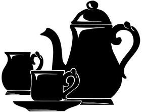 茶壶矢量图形