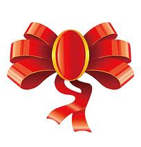 红色蝴蝶结矢量图形