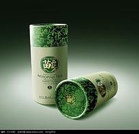 苗品记茶叶包装盒效果图