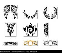 天使翅膀纹身