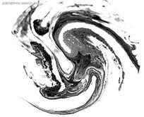 黑白水墨背景素材