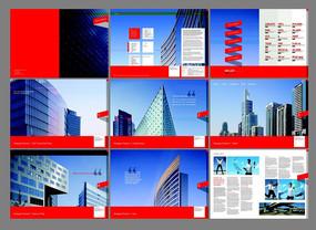 城市风景画册排版设计