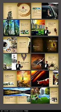 龙艺星城宣传画册设计素材