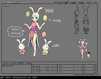 灵兔仙子游戏素材