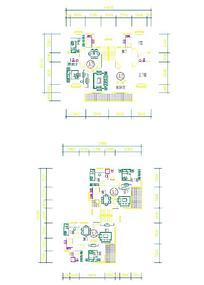 室内CAD平面图