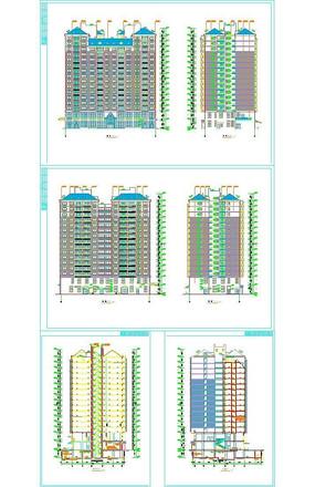高层建筑图纸